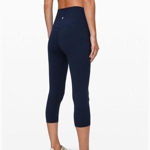 """Lululemon align 21"""" crop leggings"""